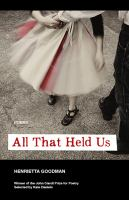 All That Held Us