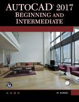 AutoCAD2017 Beginning and Intermediate