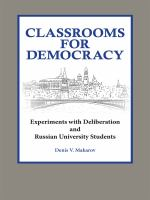 Classrooms for Democracy