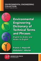 Environmental Engineering Dictionary Of Technical Terms And Phrases