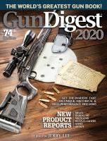 Gun Digest 2020: The World's Greatest Gun Book! - Being Reviewed For Purchase
