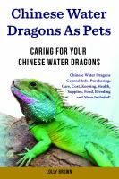 Chinese Water Dragons as Pets