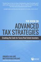 The Book on Advanced Tax Strategies
