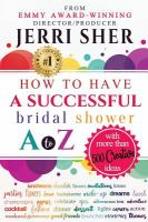 How to Have A Successful Bridal Shower A to Z