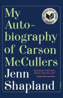 Image: My Autobiography of Carson McCullers