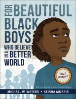 Cover of For Beautiful Black Boys W