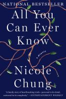 All You Can Ever Know [GRPL Book Club]