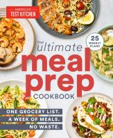 The Ultimate Meal Prep Cookbook