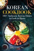 Cover of Korean Cookbook: 100+ Auth