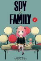 Cover of Spy X Family. 2