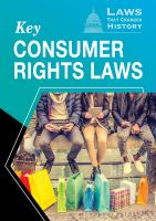 Key Consumer Rights Laws