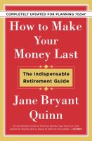 How to Make your Money Last