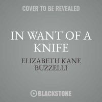 In Want of a Knife [MP3CD]
