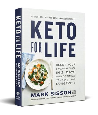 Keto for Life: Reset Your Biological Clock in 21 Days and Optimize Your Diet for Longevity(book-cover)
