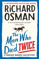 THE MAN WHO DIED TWICE--ON ORDER FOR HERRICK!