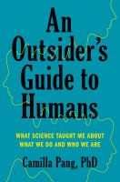 An Outsider's Guide to Humans
