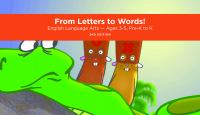From Letters to Words!