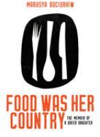 Food Was Her Country