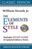 elements of style bookcover