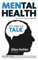 Mental health : it's time to talk