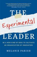 The Experimental Leader