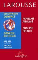 Larousse Dictionnaire Compact