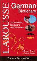Larousse Taschen-Wörterbuch
