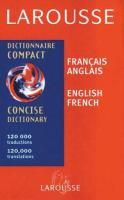 Larousse dictionnaire compact français-anglais, anglais-français