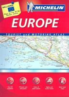 Michelin Europe Tourist And Motoring Atlas