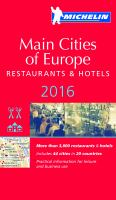 Main Cities of Europe 2016