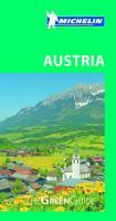 MICHELIN GREEN GUIDES : AUSTRIA 9E