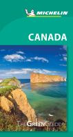 Michelin Green Guide Canada : Travel Guide.
