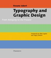 Typography and Graphic Design