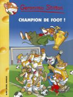 Champion de foot!