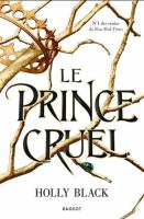 Cover of Le prince cruel
