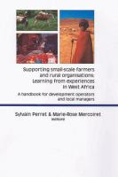 Supporting Small-scale Farmers and Rural Organisations