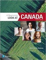 A Beginning Look at Canada