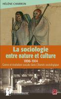 La sociologie entre nature et culture, 1898-1913