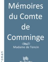 Mémoires du comte de comminge
