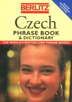 Czech Phrase Book and Dictionary