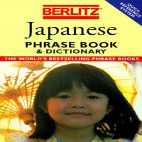 Berlitz Japanese Phrase Book & Dictionary