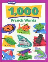 1,000 French Words