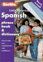 Latin American Spanish Phrase Book