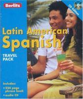 Latin American Spanish CD pack