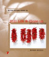 Better Picture Guide to Still Life & Close-up Photography