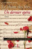 Un dernier opéra