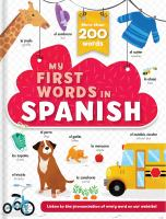 My first words in Spanish