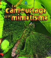 Le camouflage et le mimetisme