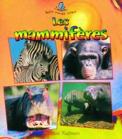 Les mammiferes