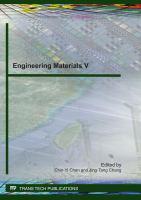 Engineering Materials V
